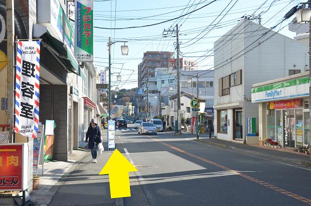 JR横須賀線逗子駅からのアクセス⑤