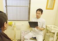 吉田院長問診写真